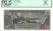 "United States ""Educational Series"" 1 Dollar 1896 PCGS 35"