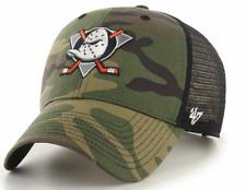 Anaheim Ducks Cap NHL Eishockey 47Brand Kappe Trucker Snapback Verschluß