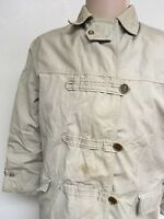 VTG 40s-50s ~ FIELD & STREAM WOMEN'S WINTER JACKET ~ Size 14 ~ Khaki