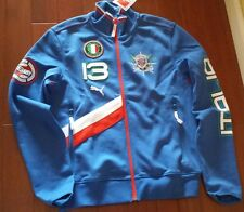PUMA HERITAGE YACHTING ITALY TRACK JACKET MENS TEAM POWER BLUE FORZA ITALIA SZ M