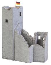 NEW ! HO Faller CASTLE RUINS with Tower : Building Kit # 130585