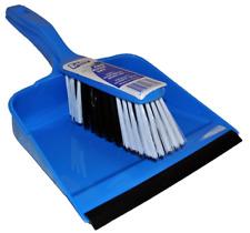 Dustpan Set Plastic Blue Commercial Domestic Laundry Sweeping Dirt
