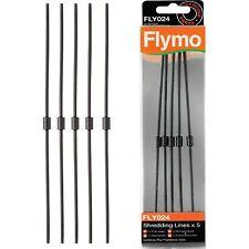 5 x Flymo Garten VAC GardenVac Schredder Schneiden Schnur, Seile Linien