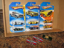 Hot Wheels Lot of 9 1969 Triumph TR6 Faster Than Ever Mystery Black '69 British