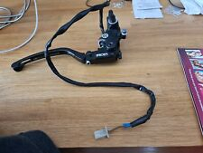 Triumph Daytona 675r Brembo Master Cylinder and  twm uk race support  lever