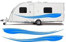 camping-car / Caravane vinyle graphiques Kit Stickers autocollant rayures #15xxl