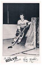 1950's Quebec Aces Ray Makila Ogilvie Photo