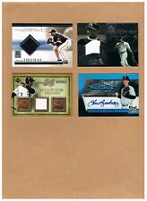 Chicago Whitesox Game-Used Jersey/Autographed Card Lot of (11) Cards! Thomas!