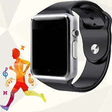 US A1 Bluetooth Smart Watch Phone Mate GSM SIM SD for Android IOS Phone Samsung