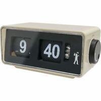 Flip Clock Radio Alarm Speaker Light Electric & battery operated Retro Vintage