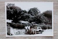 1x Foto Auto Oldtimer DKW Auto Union 1950-60er Urlaub Italien Classic Car
