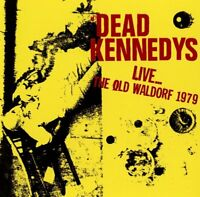 Dead Kennedys ‎– Live... The Old Waldorf 1979 (2016)  CD  NEW/SEALED  SPEEDYPOST