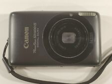 Canon PowerShot Digital ELPH SD1400 IS 14.1MP Digital Camera - Black