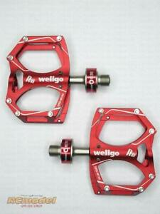 Wellgo M194 Quick Release II Bearing Pedal Red