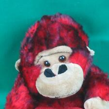 RED BLACK VALENTINE HEART MONKEY GUERRILLA OUR FIRST PLUSH STUFFED ANIMAL TOY