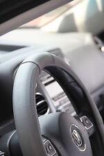 "GREY PVC Leather Steering Wheel Cover Chevy Camaro CTS Impala 14""-15"" SLIP-ON"
