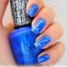 OPI NAIL POLISH Blue Shatter Top Coat E56