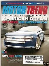 Motor Trend  - July 2007 - Ford Interceptor - Cadillac CTS - Scion xB - Audi A5