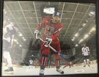 Slovakia Olympic framed Vinny Prospal picture Signed Autograph