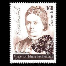 Austria 2016 - 100th Death of Marie von Ebner-Eschenbach - MNH