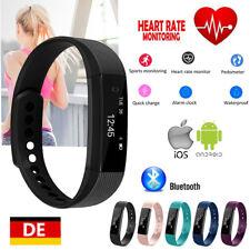 Smartwatch Bluetooth Armband Uhr Fitness Schrittzähler Schlaftracker Pulsuhr DE