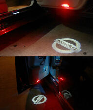 Luci proiettori Led portiera logo NISSAN luce cortesia led MICRA JUKE QASHQAI +2