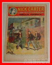 NICK CARTER 6  Nerbini 1923 IL GRAN POLIZIOTTO AMERICANO Racconto Completo