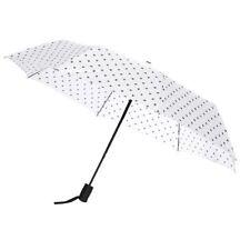Catherine Malandrino Umbrella White w/ Black Polka dots