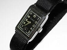 Hanhart,Art Deco,Military,Militär,Armbanduhr,Vintage 30-40er,Wristwatch,Montre