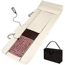Shiatsu Massagematratze mit Jadestein Massagematte +Wärmefunktion +Remote B-Ware