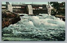 Bala Falls—Muskoka Ontario—Rare Antique Dam Rapids—Stedman Bros ca. 1910S