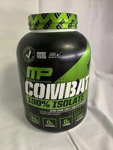 MusclePharm, Combat 100% Isolate, Chocolate Milk, 5 lb (2268 g)