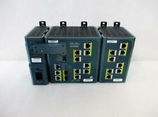 Cisco Ie-3000-8Tc 8-Port Ethernet Switch W/ Power Module & Iem-8Tm (H246)