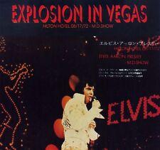 Elvis Presley CD Explosion In Vegas - Live 1972
