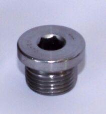 Edelstahl V2A Verschlußschraube DIN908 Lambdasonde M18x1,5