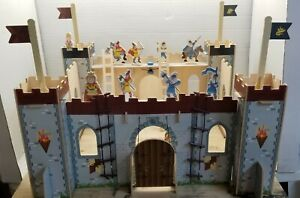 Medieval Wooden Toy Castle