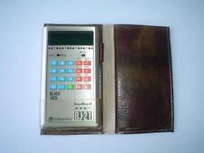 Enterprex BJ-21 Blackjack Calculator Vintage Gambling Game Video Handheld