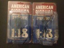 4er-Set Zombie Mechaniker (Zombie Mechanics) American Diorama neu in OVP 1:18