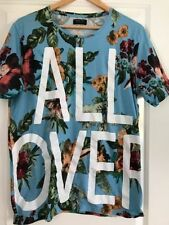 Cotton Basic Tee Floral T-Shirts for Men