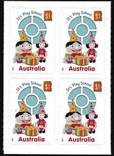 Australia 2016 50 Years of Play School Block of 4 Stamps S/A Ex booklet