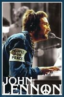JOHN LENNON ~ PEOPLE FOR PEACE ARMBAND 24x36 MUSIC POSTER Piano Beatles