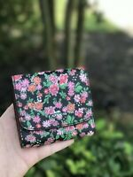 NWT COACH SMALL WALLET IN FLORAL PRINT COATED CANVAS F57642