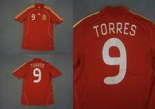 2007-09 ADIDAS ESPANA Spain Home Shirt Torres 9 EURO 2008 SIZE S