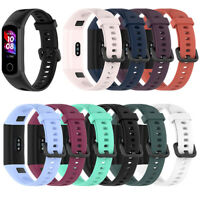 For Huawei Honor 5i/Band 4 Sports Smart Watch Silicone WristBand Strap Bracelet