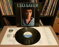 LEO SAYER Leo Sayer 1st Album - w/Insert + Promo Sheet - CDL 1198
