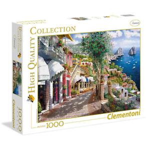 1000pc Clementoni High Quality 69cm x 50cm Capri Jigsaw Puzzle Kids Game Toy 8y+