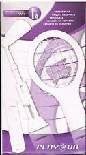 Brand New Nintendo Wii Sports Packs Tennis Racket And Golf Club