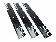 (3) Mulching Blades Fits Dixie Chopper, Dixon, Toro & Gravely 30227-50, 046998