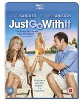 , Just Go With It [Blu-ray] [2011] [Region Free], Like New, Blu-ray
