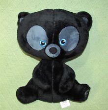 "Disney Store HUBERT BRAVE Black Bear Cub 13"" Plush Stuffed Animal Triplet Toy"
